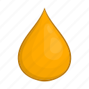 cartoon, drop, gold, honey, liquid, shin, sign icon
