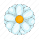beauty, blossom, cartoon, daisy, nature, sign, tropical icon