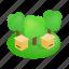 bee, beehive, box, hive, isometric, wood, wooden icon