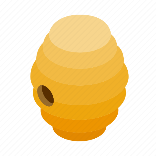 bee, beehive, hive, honey, insect, isometric, sweet icon