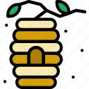 apiary, apiculture, bee, hive icon