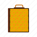 comb, hive, honey, honeycomb, natural, sweet, wax icon