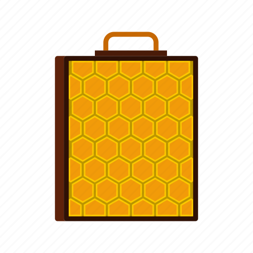 Comb, hive, honey, honeycomb, natural, sweet, wax icon - Download on Iconfinder