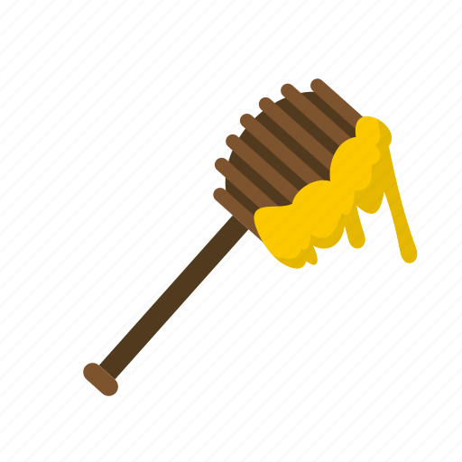 dripping, food, honey, honey spoon, spoon, sweet, wooden icon