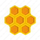 comb, hive, honey, little honeycomb, natural, sweet, wax icon