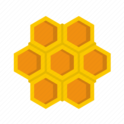 Comb, hive, honey, little honeycomb, natural, sweet, wax icon - Download on Iconfinder