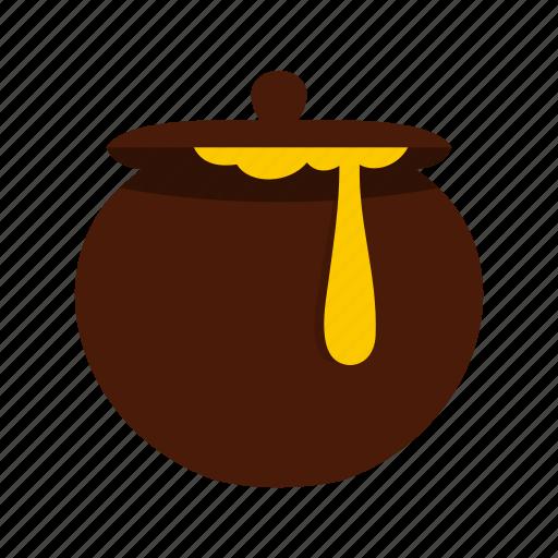 food, honey, jar, liquid, natural, pot, sweet icon