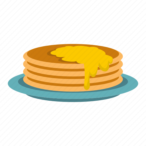Breakfast, diet, food, fried, meal, pancakes, sweet icon - Download on Iconfinder