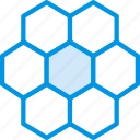 apiary, apiculture, bee, comb, honey icon