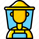 apiary, apiculture, bee, beekeeper icon