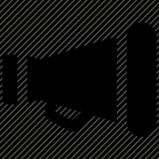 Cinema, cinematography, film, filming, megaphone, movie icon - Download on Iconfinder