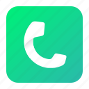 aplication, call, mobile, phone, telephone icon