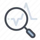 accounting, analysis, business, economy, graph, report, statistics icon