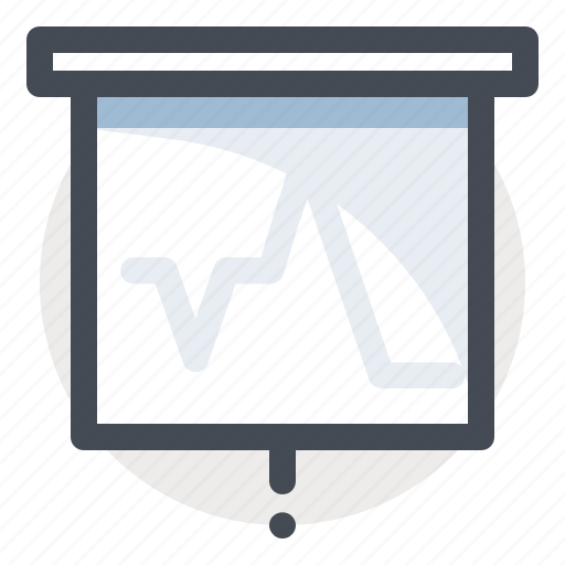 analysis, business, chart, economy, finance, graph, report icon
