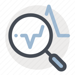 analysis, business, economy, finance, graph, monitor, report icon