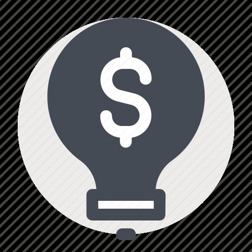 accounting, business, dollar, finance, idea, innovation, money icon