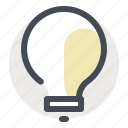 business, economy, finance, idea, innovation, lamp, money icon