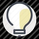 business, economy, finance, idea, innovation, lamp, money icon