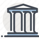 accounting, bank, building, debit, economy, finance, transaction icon
