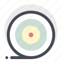 achieve, aim, business, dart board, goal, success, target icon