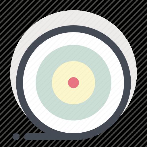 achieve, aim, business, dart board, goal, success, target icon