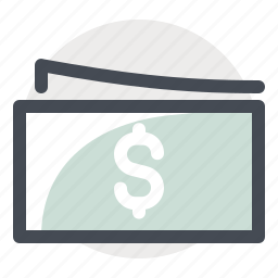 accounting, business, cash, dollar, finance, money, note icon