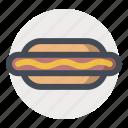 cook, fast food, food, frank, hotdog, restaurant, sausage icon