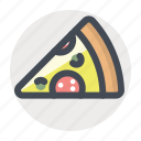 cooking, eat, fast food, food, pizza, testy icon