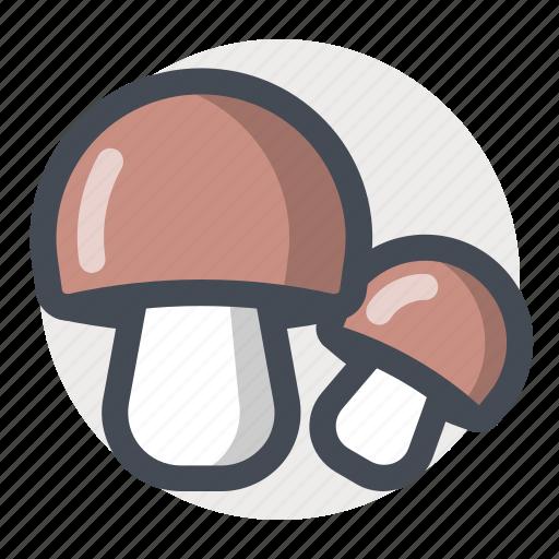 autumn, cooking, eating, food, mushrooms, vegetable icon
