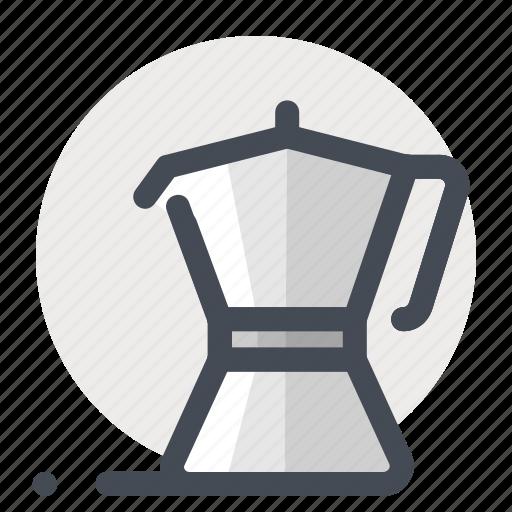 beverage, coffee, drink, hot, machine, maker, tool icon