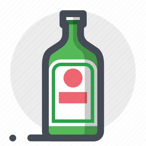 alcohol, bar, bottle, cooking, drink, green, wine icon