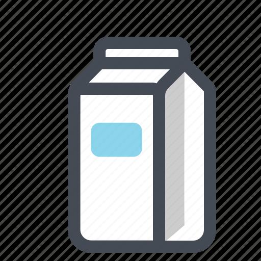 breakfast, food, kitchen, milk, package, paperbag icon
