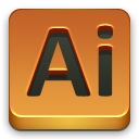 adobe, ai icon