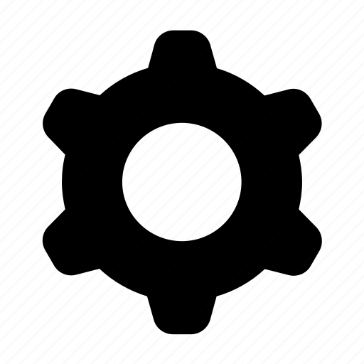 app, cog wheel, mechanics, mobile, rotation, settings, smartphone icon