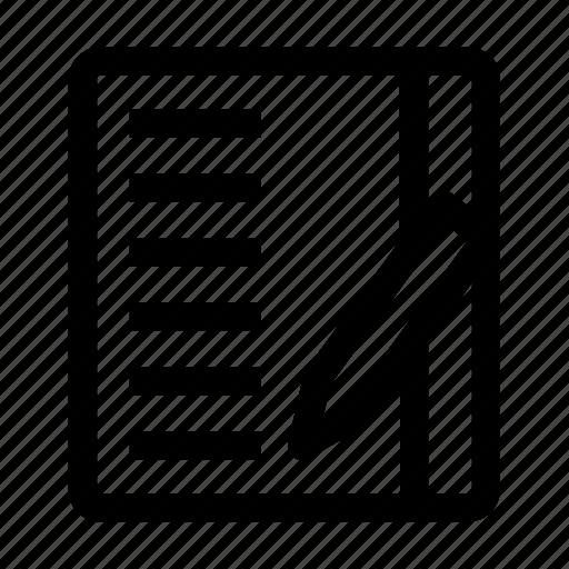 agenda, app, customized, list, mobile, smartphone, to do icon