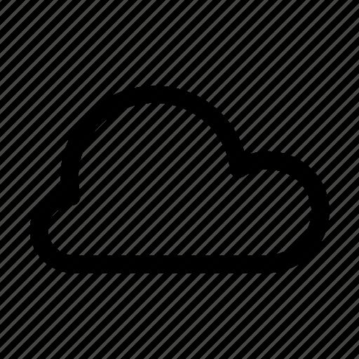 app, cloud, mobile, smartphone, storage, weather icon