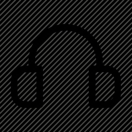 app, headphones, listen, mobile, music, playlist, smartphone icon