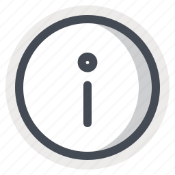 data, help, information, notice, sign, support icon