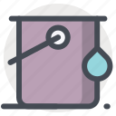 bucket, color, craft, drop, ink, paint, renovation icon
