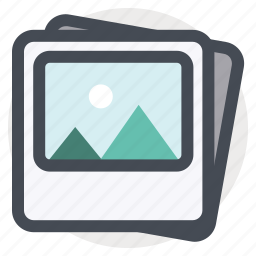 frame, gallery, image, photo, picture, scenery, scrapbook icon