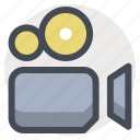 capture, film, media, movie maker, recorder, tool, video icon
