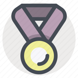 award, badge, first, medal, prize, trophy, winner icon