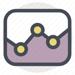 analysis, application, chart, graph, report, statistics icon