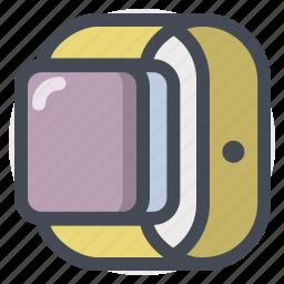 control, digital, iwatch, smart, time, track, watch icon