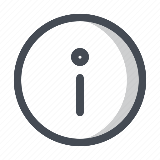 application, data, help, information, notice, sign, support icon