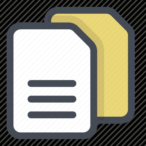 clone, copy, documents, duplicate, files, important, memo icon