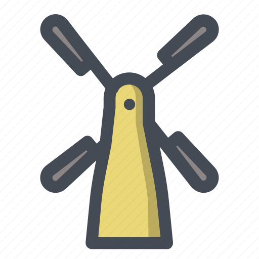 air, energy, fan, mill, wind, windmill, windy icon