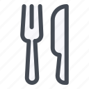 fork, kitchen, knife, spoon, tools, utensil icon
