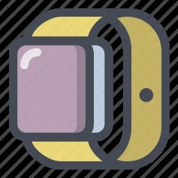control, device, digital, iwatch, smart, time, watch icon