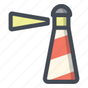 beacon, building, light, light house, smeaton tower, spy, watch icon